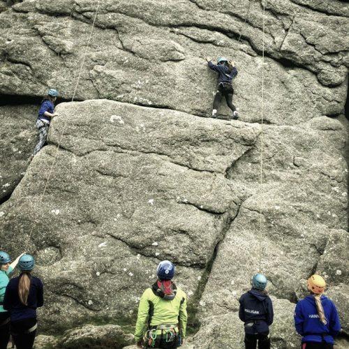 rock climbing beginners
